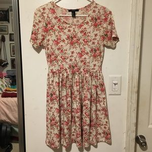 Forever 21 Small Pink Floral Dress
